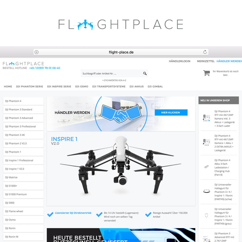Flightplace Onlineshop