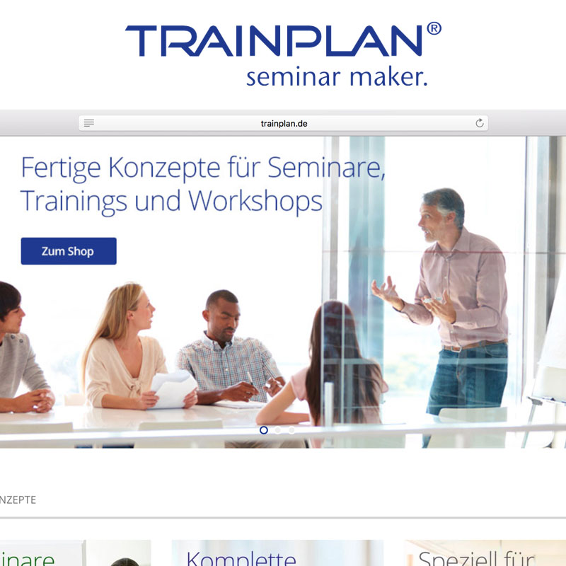 Trainplan Onlineshop