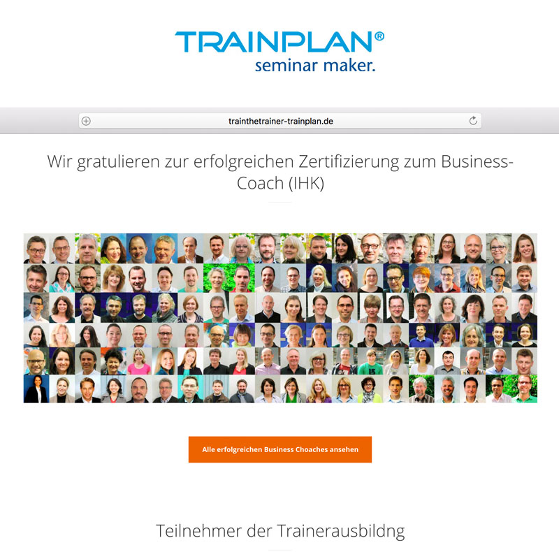 Train the Trainer Website